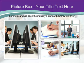 Busy Office Day PowerPoint Template - Slide 19