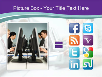 Busy Office Day PowerPoint Template - Slide 21