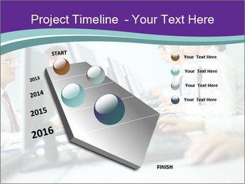 Busy Office Day PowerPoint Template - Slide 26