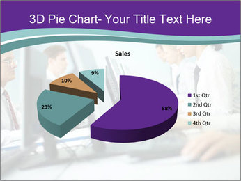 Busy Office Day PowerPoint Template - Slide 35