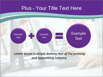 Busy Office Day PowerPoint Template - Slide 75