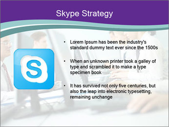 Busy Office Day PowerPoint Template - Slide 8