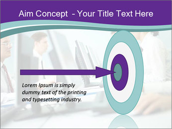 Busy Office Day PowerPoint Template - Slide 83