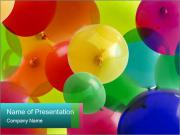 Birthday Decor PowerPoint Template