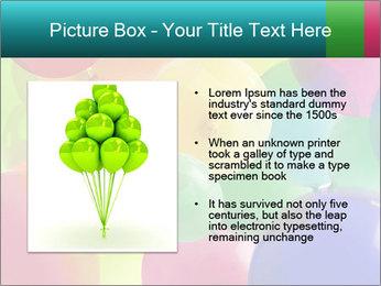 Birthday Decor PowerPoint Template - Slide 13