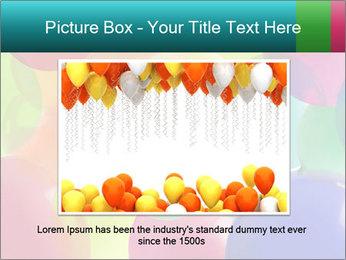 Birthday Decor PowerPoint Template - Slide 16