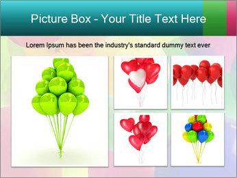 Birthday Decor PowerPoint Template - Slide 19