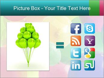 Birthday Decor PowerPoint Template - Slide 21