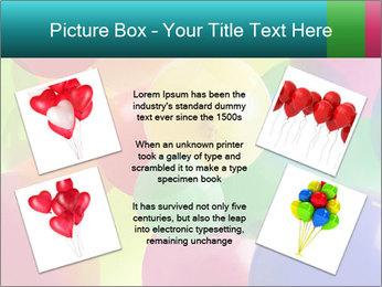 Birthday Decor PowerPoint Template - Slide 24