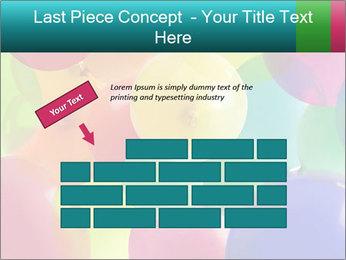 Birthday Decor PowerPoint Template - Slide 46