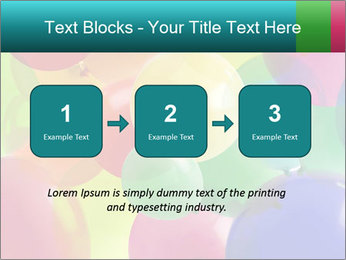 Birthday Decor PowerPoint Template - Slide 71