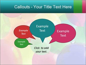 Birthday Decor PowerPoint Template - Slide 73