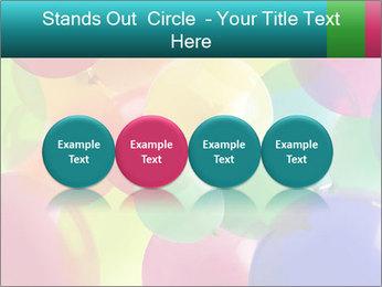 Birthday Decor PowerPoint Template - Slide 76