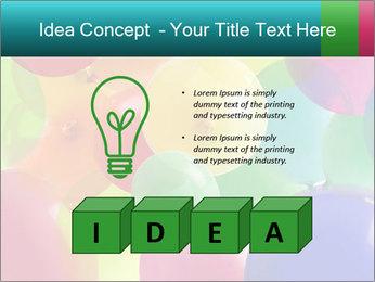 Birthday Decor PowerPoint Template - Slide 80