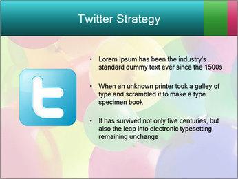 Birthday Decor PowerPoint Template - Slide 9