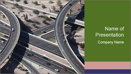Huge Freeway PowerPoint Template