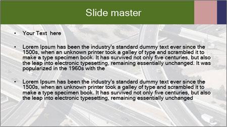 Huge Freeway PowerPoint Template - Slide 2