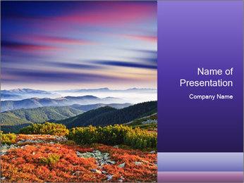 Wildlife Landscape PowerPoint Template - Slide 1