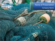 Fishing Net PowerPoint Template