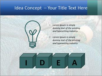 Fishing Net PowerPoint Template - Slide 80