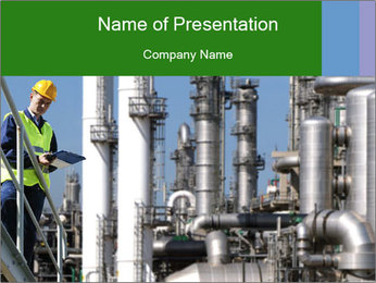 Fire Retardant PowerPoint Template - Slide 1