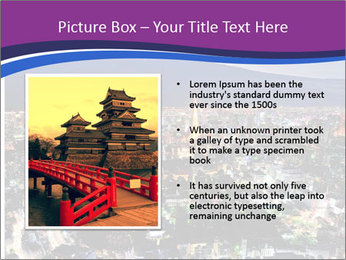 City In Jaapan PowerPoint Template - Slide 13