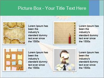 Paper Plane PowerPoint Template - Slide 14