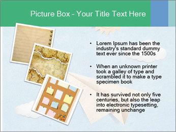 Paper Plane PowerPoint Template - Slide 17