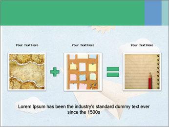 Paper Plane PowerPoint Template - Slide 22