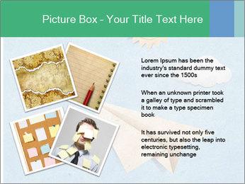 Paper Plane PowerPoint Template - Slide 23