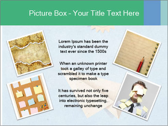 Paper Plane PowerPoint Template - Slide 24