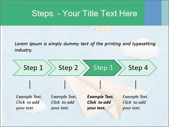 Paper Plane PowerPoint Template - Slide 4
