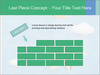 Paper Plane PowerPoint Template - Slide 46