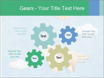 Paper Plane PowerPoint Template - Slide 47