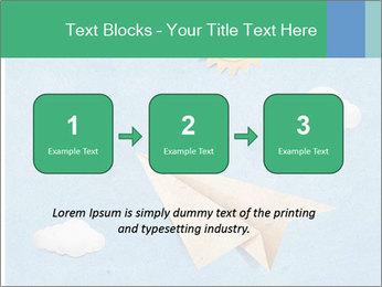 Paper Plane PowerPoint Template - Slide 71