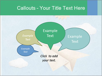 Paper Plane PowerPoint Template - Slide 73