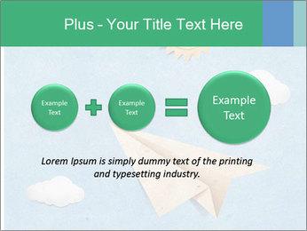 Paper Plane PowerPoint Template - Slide 75