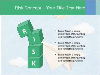 Paper Plane PowerPoint Template - Slide 81