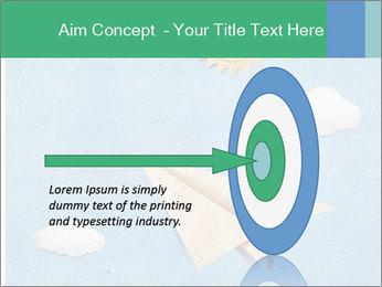 Paper Plane PowerPoint Template - Slide 83