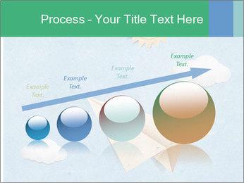 Paper Plane PowerPoint Template - Slide 87