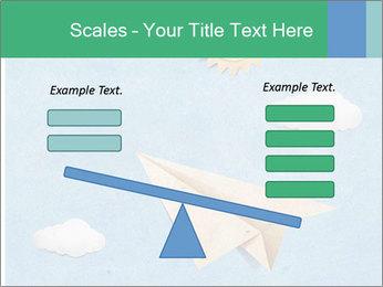 Paper Plane PowerPoint Template - Slide 89