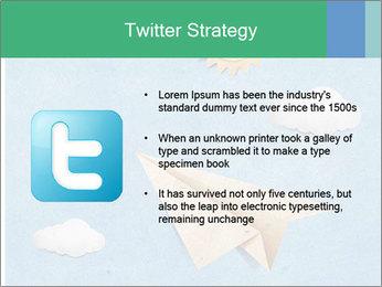 Paper Plane PowerPoint Template - Slide 9