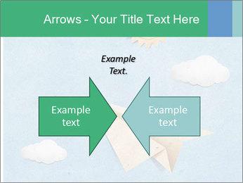 Paper Plane PowerPoint Template - Slide 90