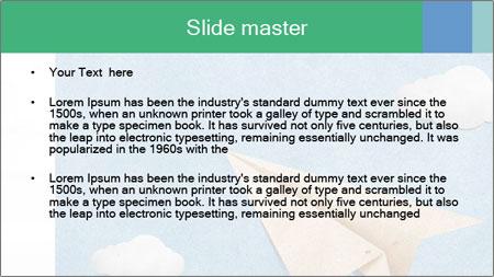 Paper Plane PowerPoint Template - Slide 2