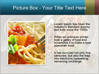 Spicy Pasta PowerPoint Template - Slide 13