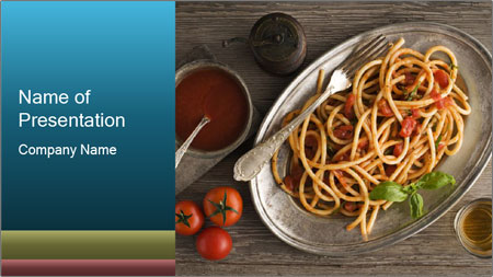 Spicy Pasta PowerPoint Template