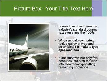 Airplane Industry PowerPoint Template - Slide 13