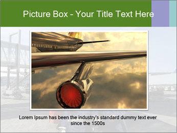 Airplane Industry PowerPoint Template - Slide 15
