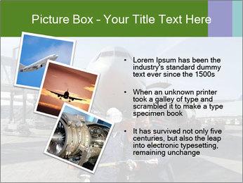 Airplane Industry PowerPoint Template - Slide 17