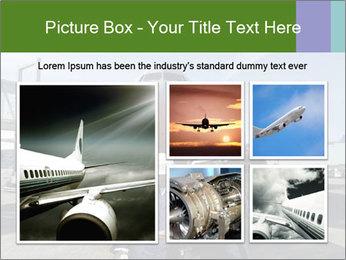 Airplane Industry PowerPoint Template - Slide 19